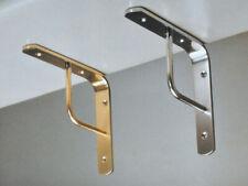 Imof Shelf Bracket a Team 20 cm Brass Nickel Shelves Shelf