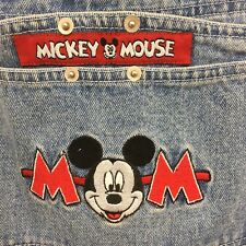Mickey Unlimited Jerry Leigh Womens Denim Carpenter Overalls Size Small Disney