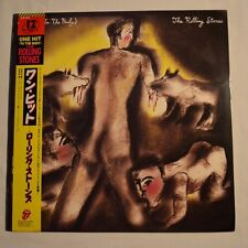 "ROLLING STONES - One hit (To the body) - 1986 JAPAN 12"" 3-TRACKS"