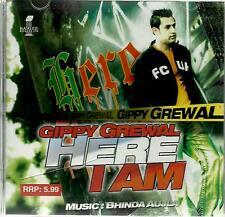 GIPPY GREWAL-HERE I AM- BRAND NEW BHANGRA CD - FREE UK POST