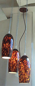 Glass Lamp Shade - Set of 3