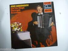 lp JOHN WOODHOUSE and his magic electronic accordion , sfl13064