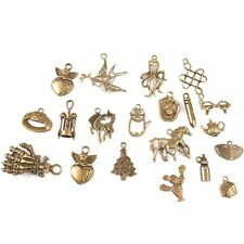 40pcs Assorted Bronze Anhänger Mixed Pendants Accessoires 142728