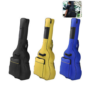 Full Size Guitar Back Bag Holder Padded Protective Classical Acoustic Carry Case