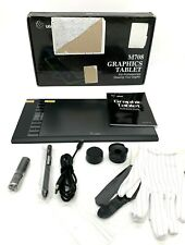 "UGEE M708 Graphics Tablet 10x6"" Large Active Area Drawing Tablet 8192 Levels Pen"