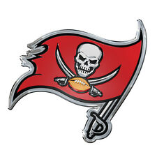 ProMark NFL Tampa Bay Buccaneers Aluminum Color Car Truck Emblem Sticker Decal