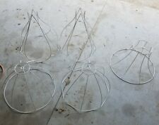 Victorian Lamp Shade Wire Frames Frame Skeleton (LOT OF 5)