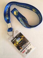 Golden State Warriors 2016 NBA Season Ticket Holder Card Unused 73 Wins Season!