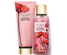 Victoria's Secret Spring Poppies Fragrance Lotion + Fragrance Mist Duo Set