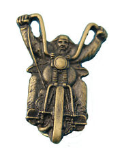 Hells Angels, Support 81, Big Red Machine Pin Biker Bronze