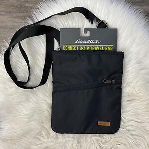 Eddie Bauer 3 Zip Travel Bag NWT