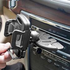 Car CD Slot Mobile Phone GPS Sat Nav Stand Holder Mount For Iphone 6 7 Samsung