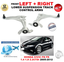 FOR HONDA CIVIC HATCHBACK 2005-2012 FRONT LOWER LEFT + RIGHT TRACK CONTROL ARMS