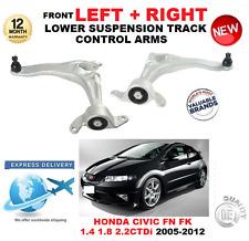 Para HONDA CIVIC Hatchback 2005-2012 frontal inferior brazos de control de seguimiento izquierda + derecha