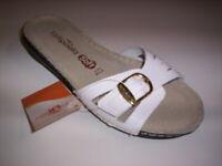La Riposella scarpe sandali ciabatte aperte donna estive bianche slippers women