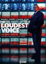 THE LOUDEST VOICE (2019): Russell Crowe / Roger Ailes TV MiniSeries NEW Rg1 DVD