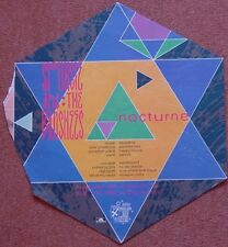 Siouxsie & The Banshees UK promo Poster Nocturne 1983