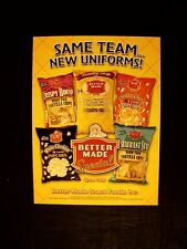 2006 Better Made Potato~Tortilla Chips~Popcorn~Cheese Snack Bag~Special Promo AD