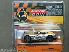 Carrera go 61282 dodge viper srt gts-r new sealed package