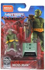 New Mega Construx Pro Builders Masters of The Universe Moss Man 18 pieces