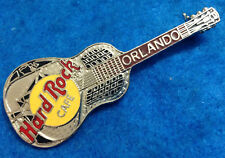 Orlando Silver Tri Plate Acoustic Guitar Model 35 2Lc Hard Rock Cafe Pin