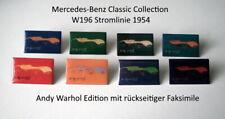 Andy Warhol W196 Stromlinie 1954 Pin limitierte Mercedes-Benz Classic Collection