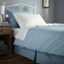 Flame Retardant Bed Linen Single Duvet Cover - Envelope End in Blue