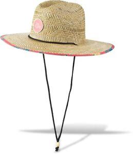 "Dakine Pindo Straw Hat L/XL (7 3/8; 23"" Circumference) Pineapple Print New 2021"
