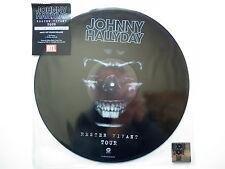 Johnny Hallyday Maxi 45Tours picture disc Rester Vivant Tour Disquaire Day 2017