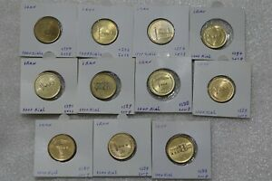 1000 REALES - 11 COINS COLLECTION B38 CM5-2