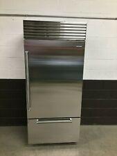 "Sub-Zero BI-36U/S/PH 36"" Classic Buit-In Bottom Freezer Refrigerator Stainless"