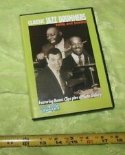 USED❤DVD•CLASSIC JAZZ DRUMMERS•swing&beyond•clips&gallery•HAMPTON++•history☮SHiP