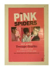 The Pink Spiders Poster Teenage Grafiti Promo