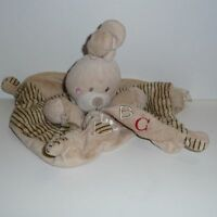 Doudou Lapin Nicotoy - Collection Abc