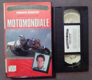 VHS Ita FREDDIE SPENCER Come Si Corre Nel MOTOMONDIALE ex nolo no dvd(VH63)