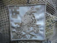 US NAVY SEAL TEAM DEVGRU red squadron the tribe VELCR0 backed PATCH BADGE AOR1