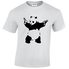 infantil panda banksy Camiseta Divertido Arte Urbano Grafiti Hipster Infantil