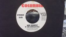 R3 *PROMO*NED DOHENY IF YOU SHOULD FALL X 2 ON COLUMBIA  RECORDS