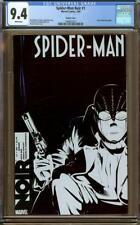 Spider-Man Noir #1 Variant Cover CGC 9.4 White Pages - 1st Appearance of Noir