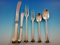 Scroll by James Robinson Sterling Silver Flatware Set 12 Service 74 pcs Dinner