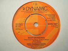 Eric Donaldson - Keep On Riding, UK Dynamic, EX-  Top Reggae '76