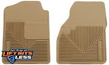 Husky Liner 51033 Tan Heavy Duty Front Floor Mats for 1999-07 GM 1500/2500/3500