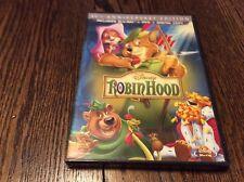 Disney Classic Robin Hood 40th Anniversary DVD Blu-ray Digital Copy BRAND NEW