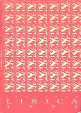 Stagione lirica 1993