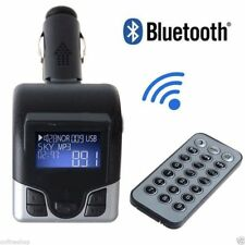 BLUETOOTH WIRELESS FM TRANSMITTER MP3 CAR HANDSFREE 4WD UTE SUV MOBILE PHONE CAL