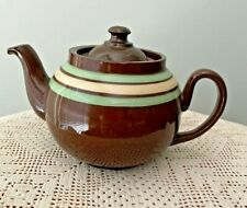 Vintage Uk 1-Cup Teapot Alcock, Lindley, & Bloore