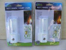 BRAND NEW SET OF TWO NIGHT LIGHTS LIGHT WITH SENSOR