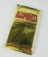 Illuminati New World Order 1994/95 Unlimited Edition Booster Pack Steve Jackson