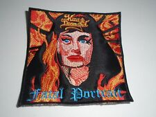 KING DIAMOND FATAL PORTAIT EMBROIDERED PATCH