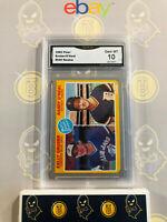 1985 Fleer Kelly Gruber/ Randy O'Neal #645 Rookie - 10 GEM MINT GMA Graded Card
